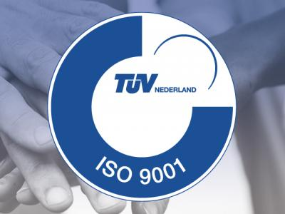 ISO9001 Certificering B-there